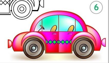 מציירים מכונית