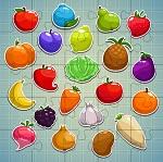 פאזל פירות וירקות