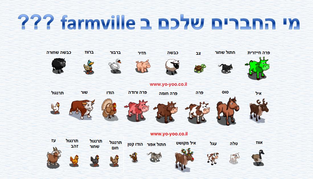 פארמוויל תיוג , תיוג farmville