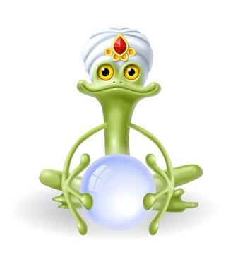 צפרדע עתידות