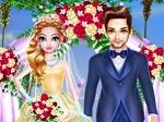 משחק הלבשה של כלה לחתונה שלה , משחק הלבשה כיף לבנות