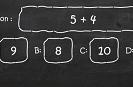 משחק שאלון טריוויה של חשבון לילדים , בואו לענות על כמה שיותר שאלות בחשבון בדקה