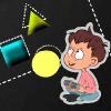 בואו ללמוד צורות במשחק התאמת צורות מגניב , בהתחלה צורות קלות ואז הולכות ונהיות התאמות קשות