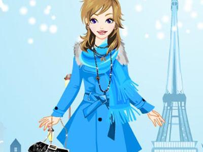 החורף בפריז