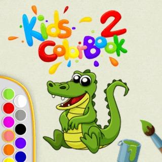 ספר צביעה לילדים קטנים בגירסא נוספת עם עוד ציורים לילדים קטנים , אונליין במחשב או לפלאפון (סמארטפון עם מסך מגע )