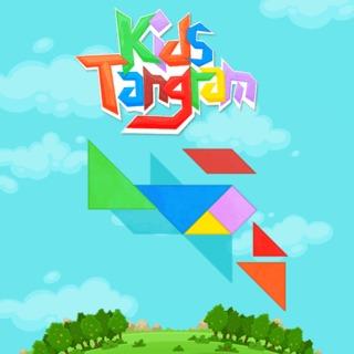 משחק טנגרם - התאמת צורות לילדים