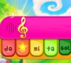 אורגן וירטואלי אונליין לילדים קטנים, בואו לנגן באורגן במחשב או בפלאפון