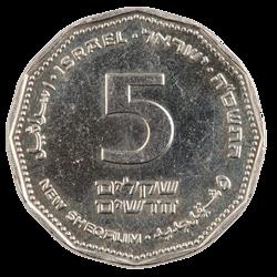 הטלת מטבע 5 שקל